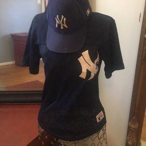 Vintage New York Yankees Mesh Top